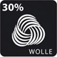 Dieser Artikel enthält Wolle! Wolle ist ein Naturprodukt. In Kombination mit anderen Fasern spielt sie Ihre Vorteile aus.
